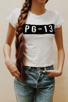 Brandy ♥ Melville | Ali PG-13 Top - Graphics