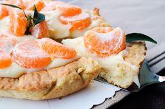 Crostata ai mandarini e crema ricetta bimby o senza