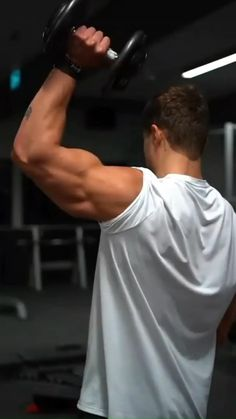Arm Workout Men, Bicep And Tricep Workout, Gym Workout Videos, Gym Workout For Beginners, Abs Workout Routines, Dumbbell Workout, Strength Workout, Gym Workouts, Body Transformation Workout