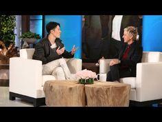 "Ellen Meets Miyavi. His stunning performance in ""Unbroken"" has moviegoers raving. Ellen met the star for the first time."
