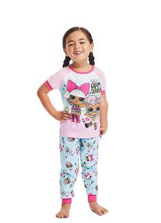 Kids Pajamas, Pjs, Turquoise Pants, Turquoise Background, Cuff Sleeves, Pajama Set, Cozy, Cotton, T Shirt