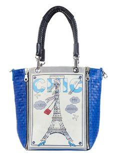 Barbara Rihl Lady Eiffel Handbags