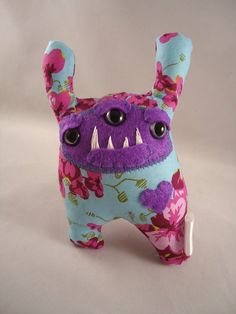 "I just bought this Love Monster ""Little Dancer"" by MadKnits on Etsy.  Sooo cute"