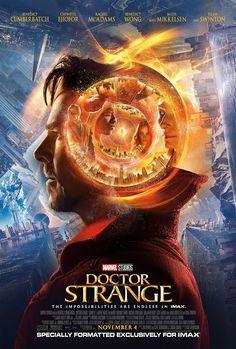 DOCTOR STRANGE movie poster No.10 (IMAX)