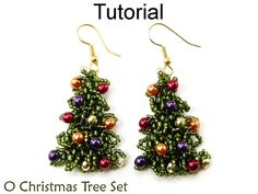Tutorial Christmas Tree Beading Pattern por SimpleBeadPatterns