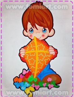 Niño con Cometa