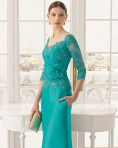 33 trendy Ideas for dress brokat aire barcelona Trendy Dresses, Elegant Dresses, Fashion Dresses, Formal Dresses, Lace Dresses, Bride Dresses, Party Dresses, Dress Brokat, Mothers Dresses