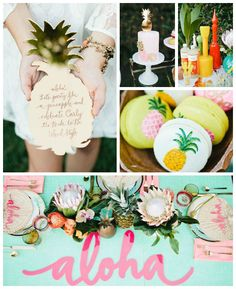 Aloha Luau Bridal Shower via Kara's Party Ideas The Place for All Things Party! KarasPartyIdeas.com #alohaluaubridalshower (2)