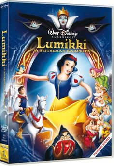 Disney 1: Lumikki ja seitsemän kääpiötä 8,95e