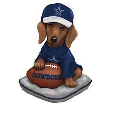 Ruff And Tough Dallas Cowboys Figurine Collection
