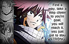 Natsu, Be Strong by Xela-scarlet