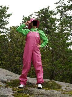 Pvc Trousers, Harem Pants, Rain Wear, Catsuit, Farmers, Latex, Overalls, Rain Jacket, Windbreaker