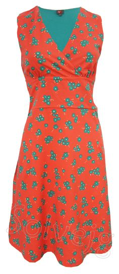 Mex jurk van Who's That Girl, bij Solvejg.nl de webshop voor kleurrijke mode