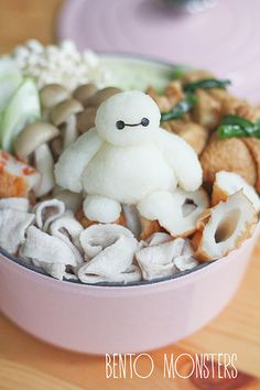 Bento, Monsters: Baymax Oden & Noodles