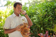 "Question of the day:  ""What is Sireli listening to?"" | Pacific | Fiji | Matangi | Matagi | Private Island | Resort | Wedding | Honeymoon | Anniversary | Diving | Snorkeling | Treehouse | Spa | Massage | Romantic |"