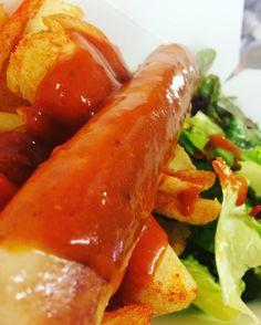 #currywurst #live #aufdiehand #aufdenteller