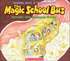 The Magic School Bus: Inside the Human Body  Keywords: The Magic School Bus, #magicschoolbus, books, front cover