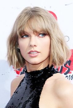 Taylor Swift attends the 2016 iHeartRadio awards on April 3, 2016