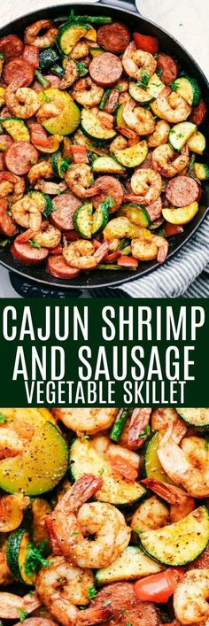 Cajun Shrimp and Sau