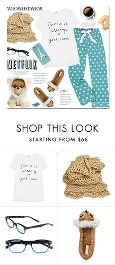 """""""Netflix & Donuts"""" by josie-girl ❤ liked on Polyvore featuring Sundry and Kate Spade"""