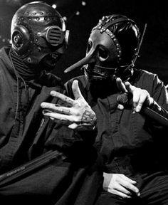 Sid Wilson and Chris Fehn / Slipknot