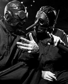 Sid Wilson and Chris Fehn / Slipknot