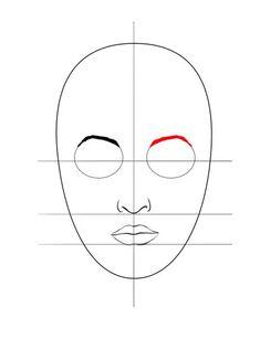 Bildtitel Draw a Face step2 5