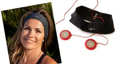 Includes HVLO Headband Headphones Sport in Black.    -Headphones can be taken out of headband for easy washing  -Easy to align over your ears, suitable for heads of all shapes & sizes   -Ideal for sleep, travel, and fitness  -Comfortable for long periods of time  -3.5mm Stereo Jack  -Compatible with iPod, iPhone, iPad and MP3 Players  -36MM drivers produce clear highs and deep resounding bass  -Material (headband): Supplex  -1 year warranty