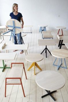 Furniture: Mun Collection by SlowWood : Remodelista