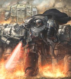 Darth Vader in the universe of Warhammer 40000 by concubot on DeviantArt