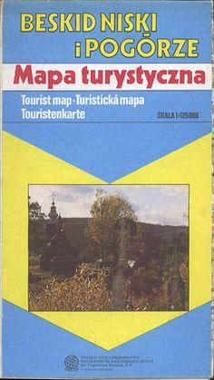 Beskid Niski i Pogórze 1:125 000, PPWK, 1992, http://www.antykwariat.nepo.pl/beskid-niski-i-pogorze-1125-000-p-13365.html