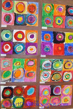 It is Art Day!: Kandinsky circles