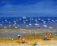 La plage-Marée basse-Cancale-Ille et vilaine