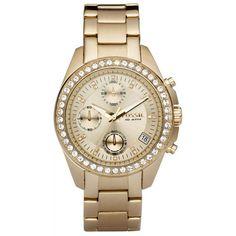 Fossil Trend ES 2683 AKCE, zlatá, 3870 Kč | Slevy hodinek