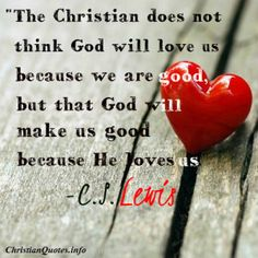 C.S. Lewis Quote - Christian Love