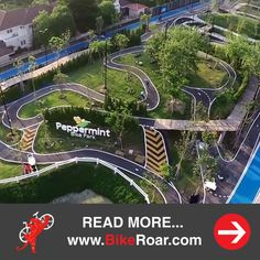 Peppermint Bike Park - Mountain biking in the heart of Bangkok!  We were asked a lot of questions after posting the Peppermint Bike Park teaser video. ❤ Well, the park is now open and we did an interview with them  to get your questions answered!  LEARN MORE: http://www.bikeroar.com/articles/peppermint-bike-park-mountain-biking-in-the-heart-of-bangkok?utm_content=buffer4d124&utm_medium=social&utm_source=pinterest.com&utm_campaign=buffer #bike #park #urban #cycling #road #mtb #mountain #city…