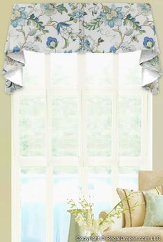 Image Result For Diy Two Single Panels On Both Sides Of Center Valance Only Layered Tucked