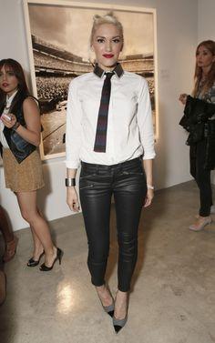 Gwen Stefani in Rag & Bone RBW9 Jeans in Seal