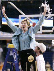 Pat Summitt, Legendary Coach of the UT Lady Volunteers Basketball Team