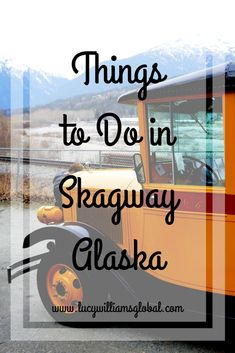 The port of Skagway is on most Alaska Cruises but what is there to do in Skagway? Things to Do in Skagway Alaska range from train tours, wildlife spotting. Alaska Tours, Alaska Usa, Alaska Travel, Canada Travel, Usa Travel Guide, Travel Advice, Travel Usa, Travel Guides, Travel Tips