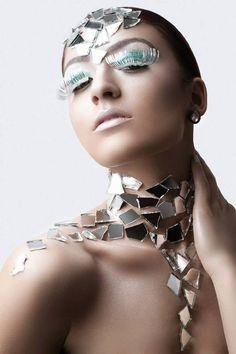http://www.elastudios.com.au  http://www.elastudios.com.au Glamour photography, beauty head shot, creative make up, grecian girls, tinsel eyelashes, make up, brown eyes, fashion photography, high end retouching.