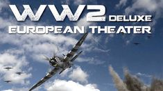 """WW2 Deluxe on Kickstarter! A playable (in an evening), large-sized (3/4"""" counters, 1 full-sized map) game of the entire Second World War in Europe."""