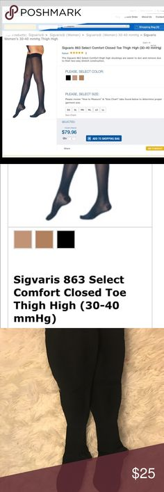 97ddbf614 Sigvaris compression stockings Very good condition! Medical grade thigh  high compression stockings. Item number