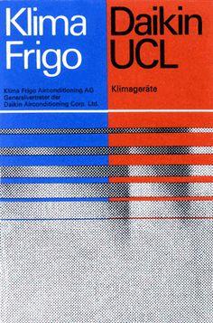 Designed by Visual Communication, Zurich, Switzerland Jörg Zintermeyer, Verena Rudolf around 1980.