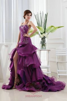Sexy Fashion bestselling beaded crystal split up by angeldreamprom, $143.55