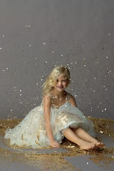 Seahorse Dress 44379 - adorable flower girl dress!