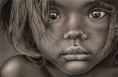 Buy Little girl Brazil - original framed pencil drawing, Painting by Lianne Issa on Artfinder. Discover thousands of other original paintings, prints, sculptures and photography from independent artists.