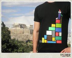 Cotton Black T-Shirt Design : Tower Shirt Bag, T Shirt, Shirt Designs, Tower, Spring, Fabric, Mens Tops, Cotton, Black