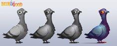 ArtStation - Pidgeon, Iosu Palacios