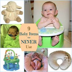 9 Baby Items We Have But (Almost) Never Use
